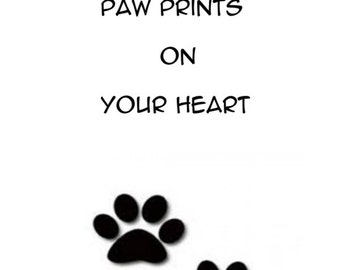 Dogs leave paw prints *** downloadable ***