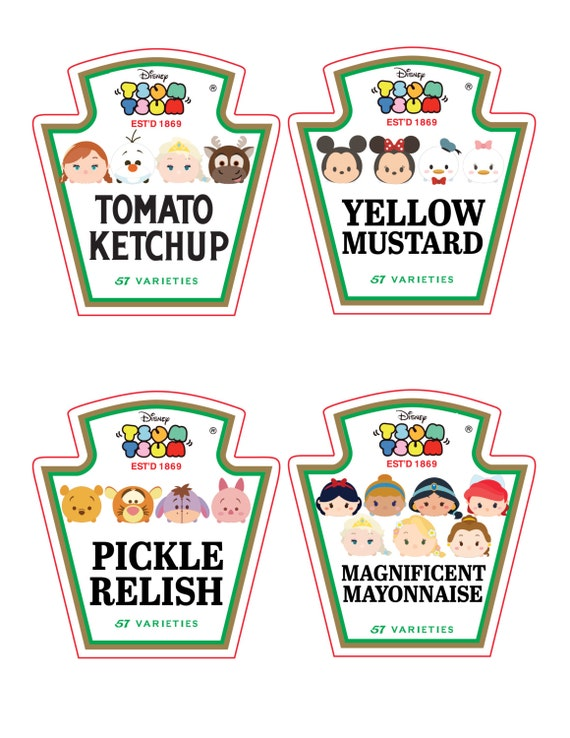 Heinz ketchup bottle label images for Heinz label template