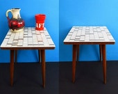 RESERVED flower stool, side table, plant stand, coffee table | 50s | Germany