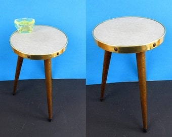 flower stool, side table, plant stand, coffee table | 50s | Germany