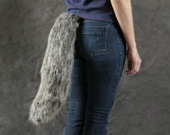Faux Fur Wolf / Canine Tail - Medium