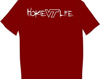 Virginia tech hokies T shirt football acc