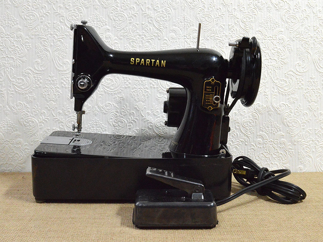 spartan sewing machine manual