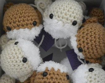 Set of 3 Fluffy Little Lambs