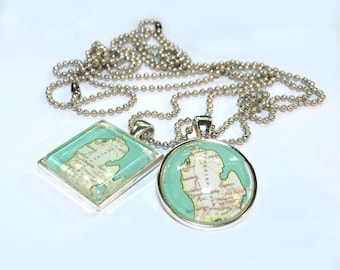 READY TO SHIP Michigan Charm Necklace