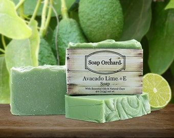 Avocado Lime + E Soap Bar