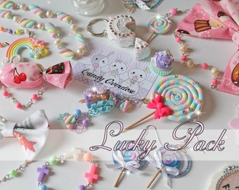 Lucky Pack - Kawaii Sweet Lolita Fairy Kei Decora Jewelry And Accessories
