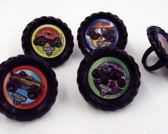 Monster Jam Rings