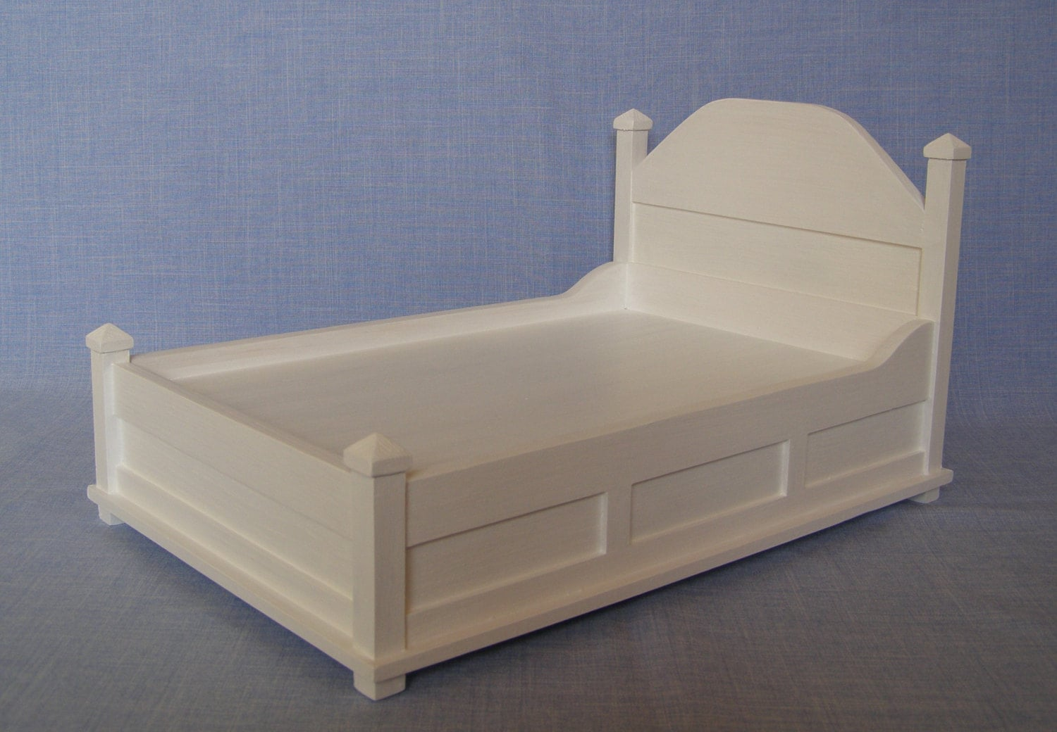Double Bed For 12 Inch Doll 1 6 Scale Bed Modern Bed