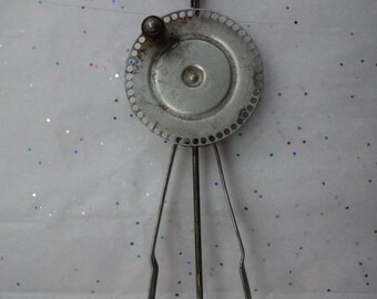 "Antique egg beater, probably 20's or 30's. ""The turbine egg beater"""
