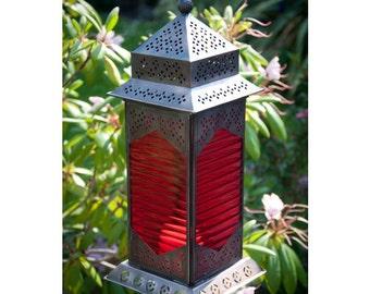 Mellah Marrakech Garden Hurricane Lanterns