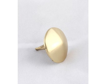 Solid Brass Rounded Door Stud