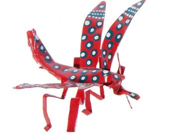 Hazelwood Mere Hand Painted Dragonfly Decoration