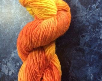 Fire - Handdyed Yarn