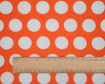 Knit Really Orange Fabric 1 yard
