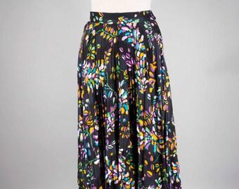 Vintage Maxi skirt - jade