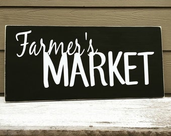 Farmers Market - 11 x 24 - {Fresh Food. Farmers Table}