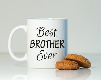 Brother mug, Gift for brother, Brother gift, Brother mug, Brother coffee mug, Birthday for brother, Christmas brother gift, From sister