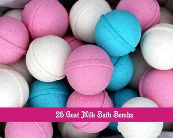 Wholesale Goat Milk  Bath Bombs Set of 25