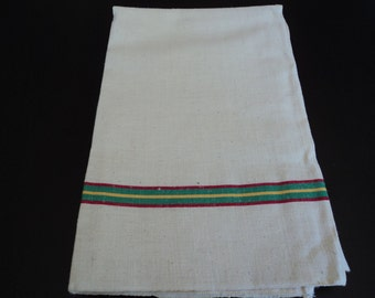 French vintage metis linen tea towel / torchon (00199 - 00203)