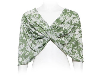 Camouflage Loop Shawl, Infinity Shawl For Woman. Versatile Casual Cover Up, Shoulders Wrap Shrug, Non see through Shrug, Army Style Shawl