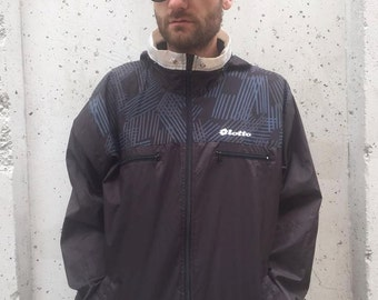 Vintage Lotto Jacket Size L Made in Italy (367)