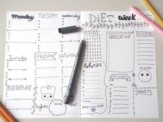 daily diet journal