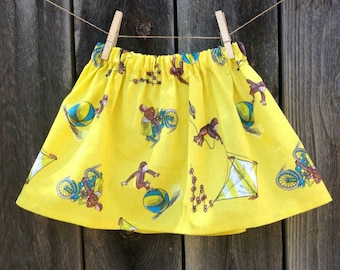 Curious George Skirt