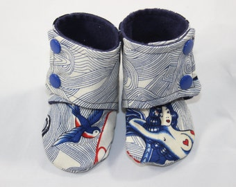 Lost at sea Booties