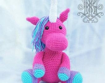 Pink Unicorn Stuffed Animal