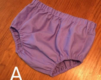Matching bloomers, panties, or diaper cover