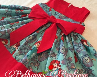 Little mermaid dress, Princess Ariel dress