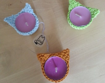 MAO Candle holder CROCHET PATTERN
