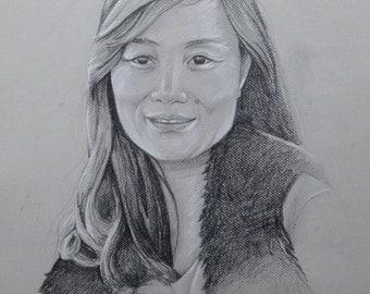 Portrait graphite