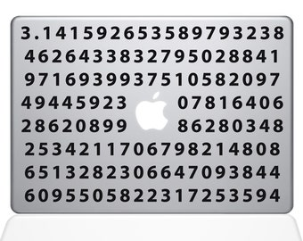 Pi Macbook Decal (2359-MAC)