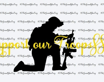 Support Our Troops svg file(svg112), svg files, clipart, vector, military svg, military clipart, military vector