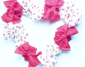 Love Blooms Adjustable NonSTRETCH Headwrap