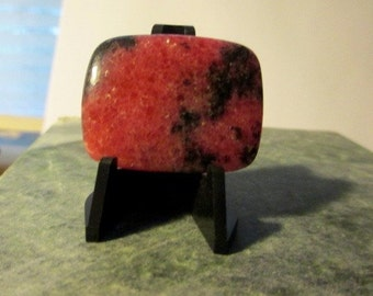 Rhodonite Brain-Zapper Stunning Cabochon Rectangle