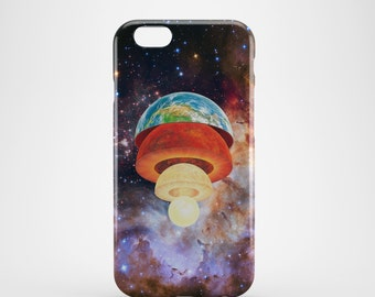 Earth Core Phone case,  iPhone X Case, iPhone 8 case,  iPhone 6s,  iPhone 7 Plus, IPhone SE, Galaxy S8 case, Phone cover, SS155a