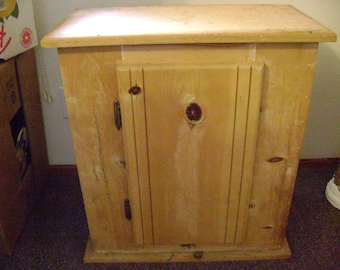 Handmade 10 Gallon Fish Tank Cabinet Stand (used but in good condition)