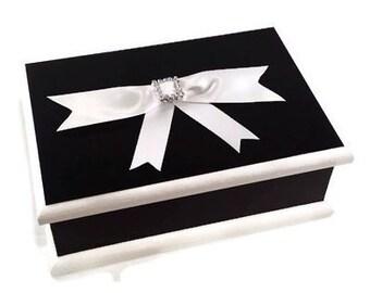 Classic Keepsake Box Black & White