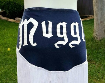 Ready to ship - Muggle, Harry Potter bellydance hipscarf