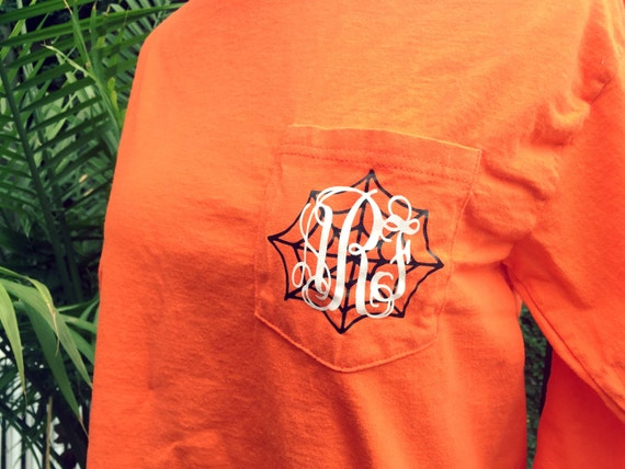 Spider Web Monogrammed Shirt