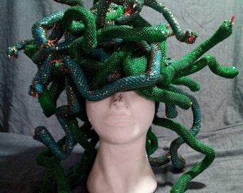 Medusa snake headpiece