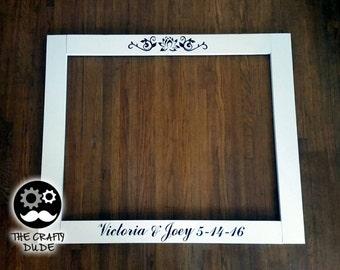 Selfie frame prop, prop frame, party frame, frame prop, wedding prop, wedding frame.