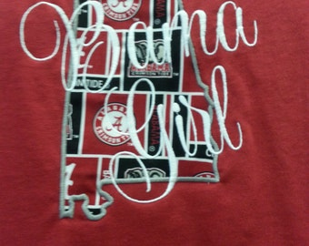 Bama Girl Collegiate Shirt