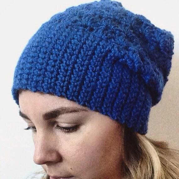Crochet Hat Pattern, pattern, Crochet beanie pattern, women's hat pattern, instant download, crochet slouchy hat pattern, hat