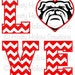 Bulldog Love cutting file SVG instant download PERSONAL USE only!