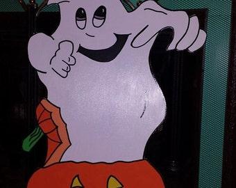 Ghost In Pumpkin