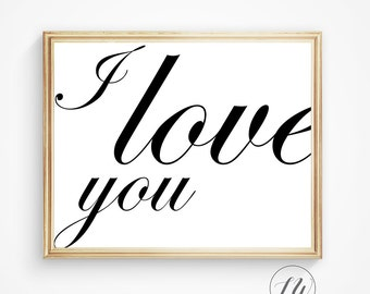 Love quote, Nursery art, Love print, You are loved print, Inspirational quote, Love poster, Wedding gift, Love printable, Wall decor